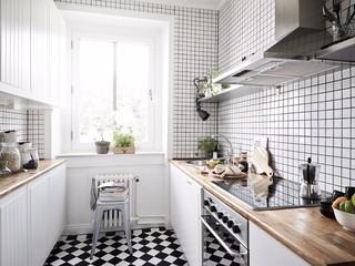 53平北欧风格公寓厨房装修效果图