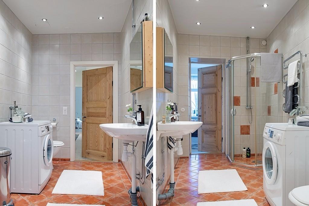 118平米白色公寓卫生间装修效果图