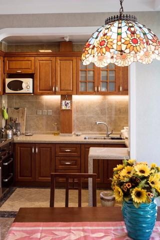 130㎡混搭风格厨房装修效果图