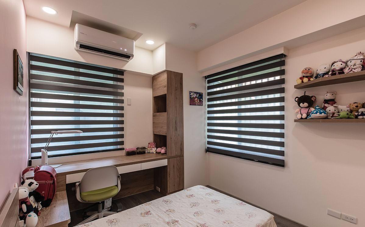 115㎡轻工业风格卧室装修效果图