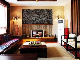 149㎡泰式风格三居室 暖色调慢生活