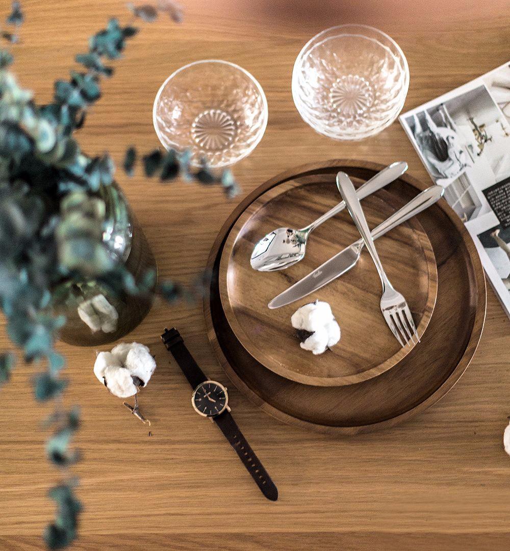 145㎡北欧风格装修餐桌小景