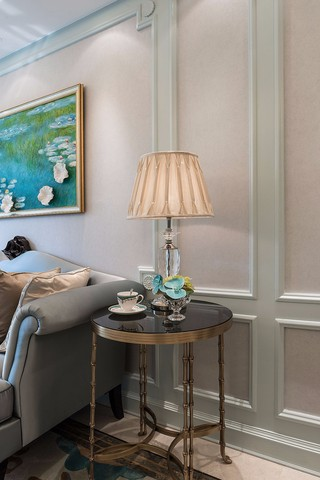 大户型法式风格装修沙发一隅