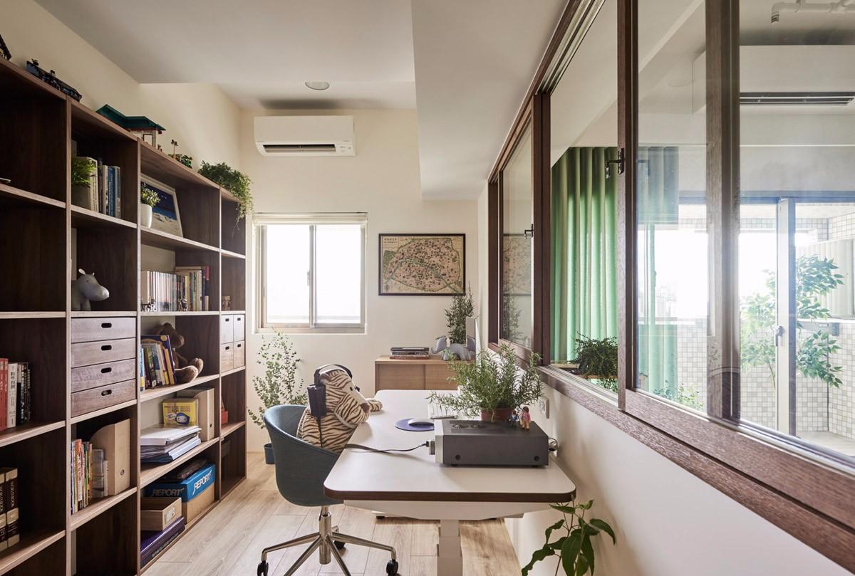 MUJI风格二居书房装修效果图