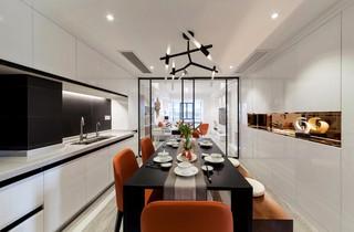 105平现代简约厨房装修效果图