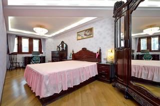 96㎡欧式风格卧室装修效果图