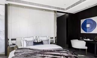 摩登轻奢样板间卧室装修效果图