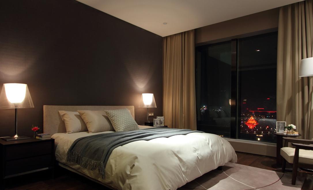 大户型样板间卧室装修效果图