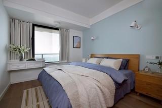 三居室简约风格卧室装修效果图