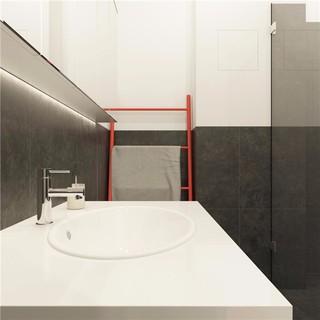 简约小户型公寓卫生间装修效果图