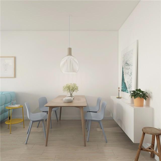 一居室小户型简约风餐厅装修效果图
