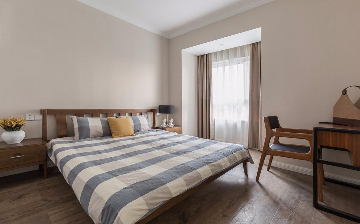 简约现代风格卧室装修效果图