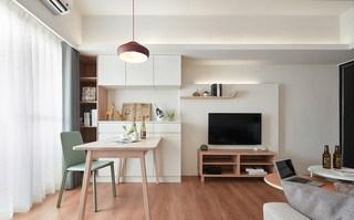 小户型北欧两居室餐厅装修效果图