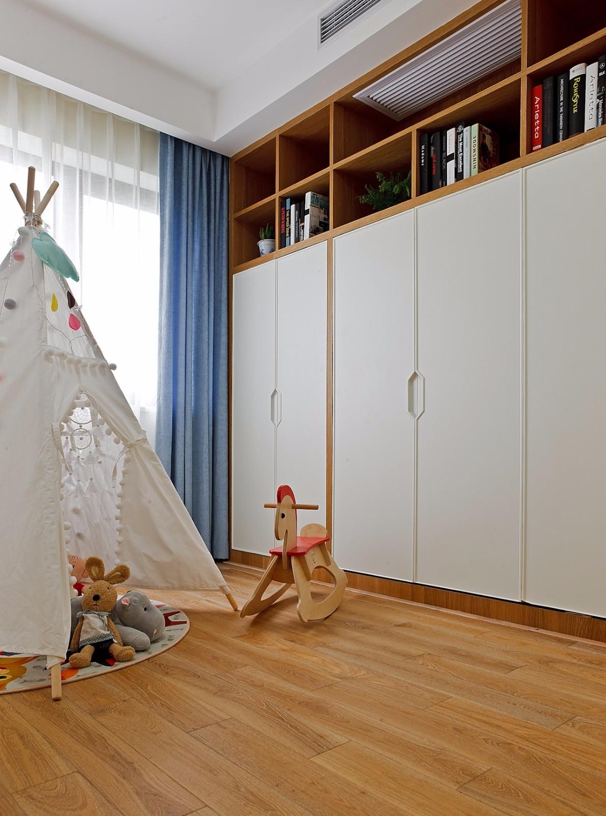 二居室北欧风格儿童房装修效果图