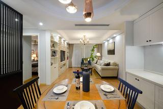 美式风格两居餐厅装修效果图