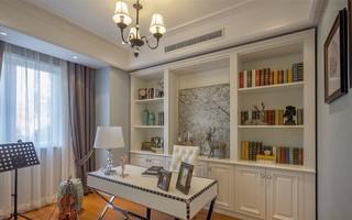 美式风三居室书房装修效果图