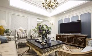 古典美式风格三居装修效果图