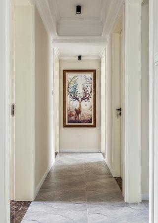 100平米美式风格走廊装修效果图