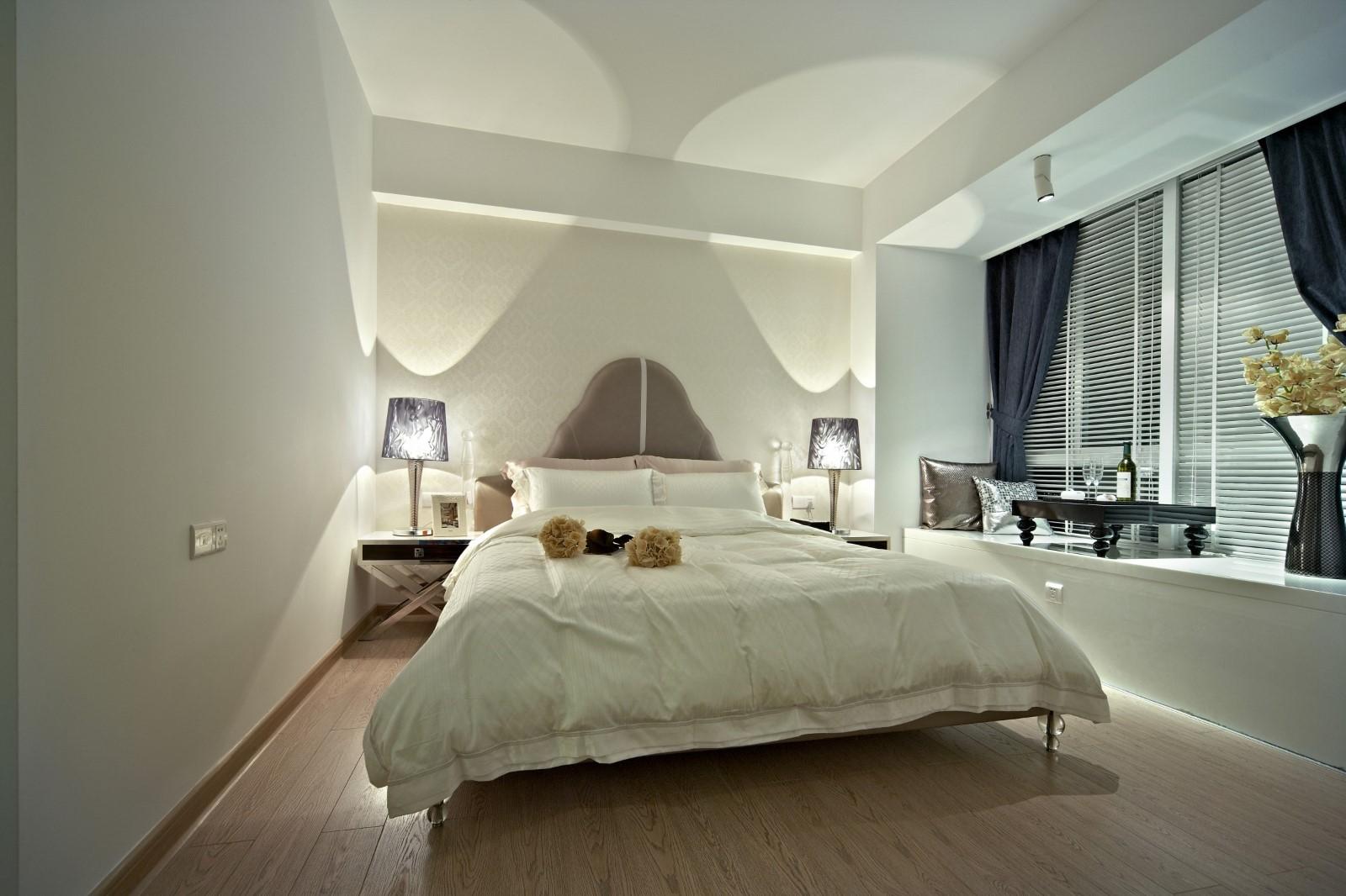 新古典三居卧室装修效果图