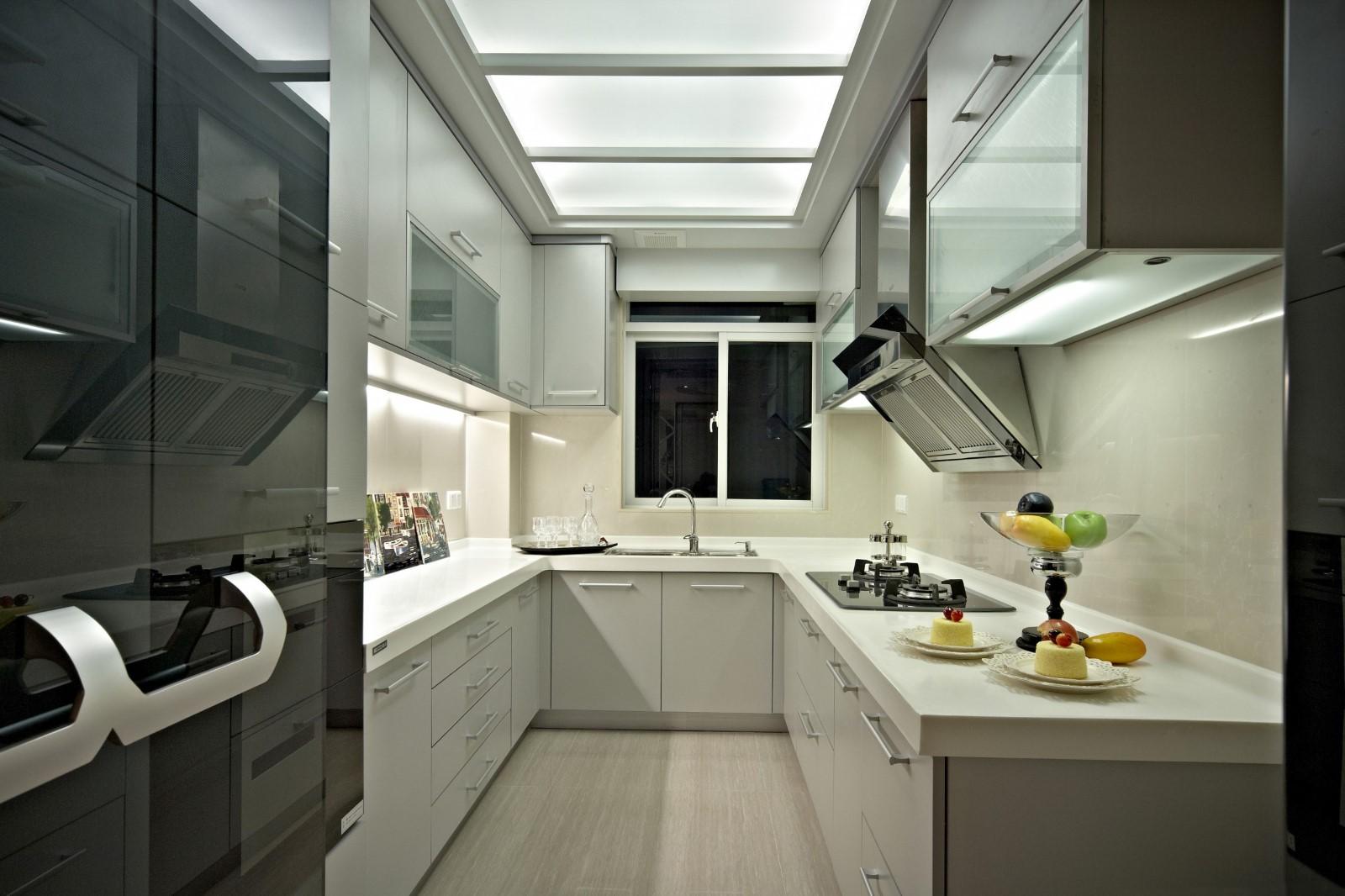 新古典三居室厨房装修效果图
