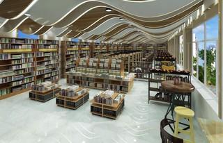 书店装修设计效果图