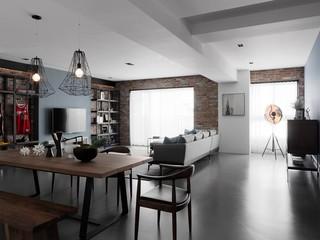 三居室北欧风装修效果图