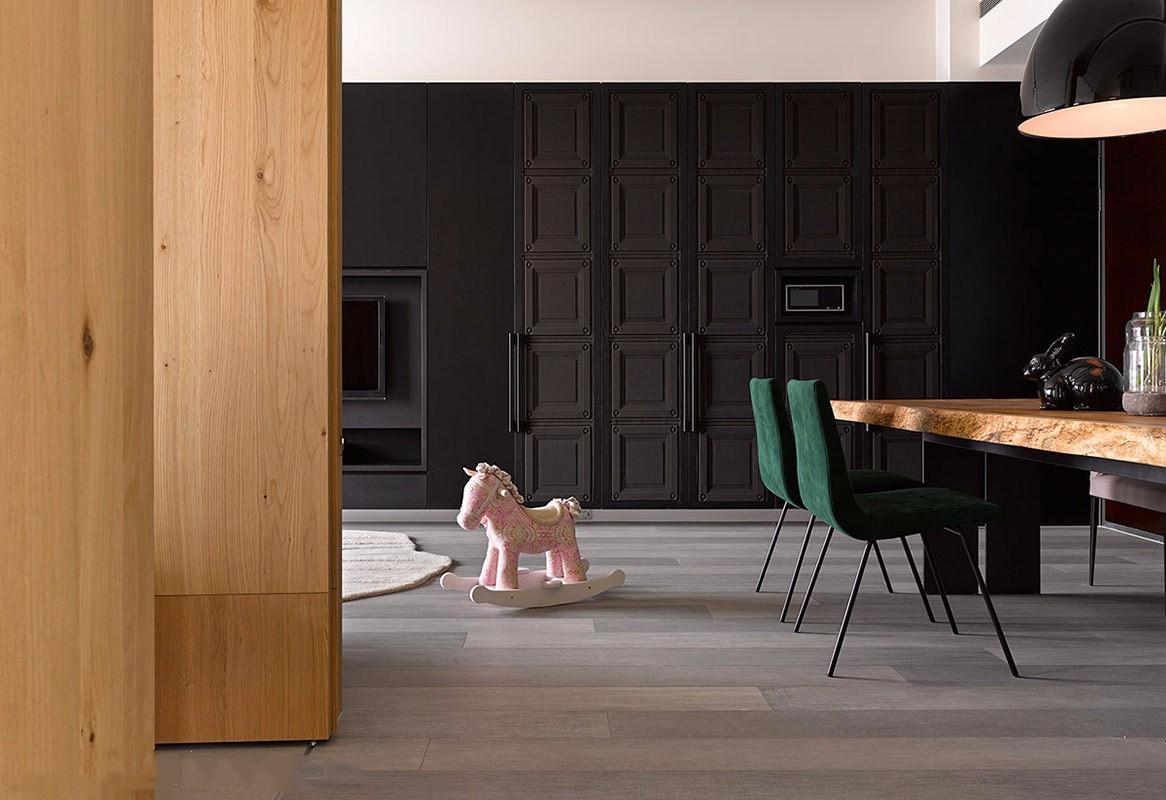 90㎡现代风二居装饰壁柜装修效果图