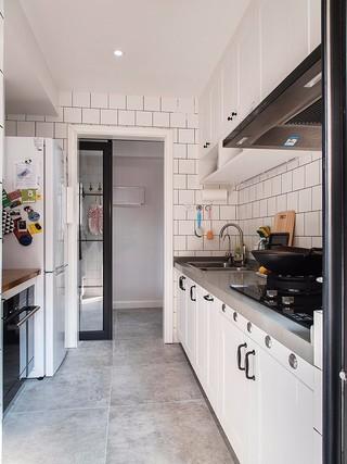 110㎡北欧风格厨房装修效果图