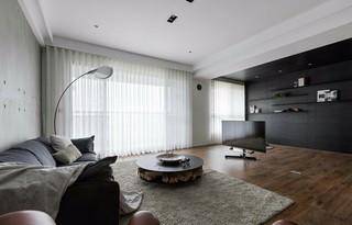 155平现代风格客厅装修效果图