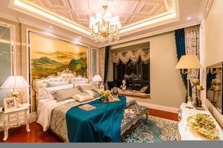奢华古典欧式风格卧室装修效果图