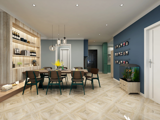 二居室北欧风格餐厅装修效果图