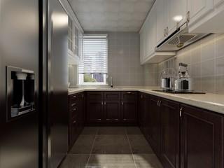 美式风格三居厨房每日首存送20