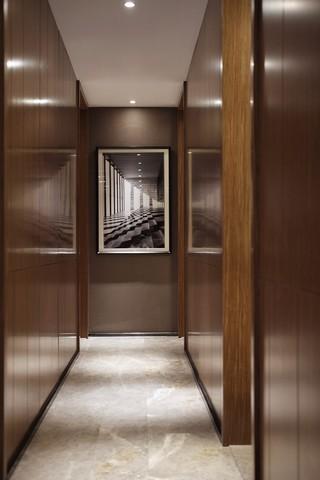 现代风格四居室走廊装修效果图
