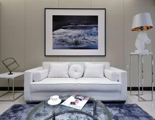 简约现代样板房沙发背景墙每日首存送20