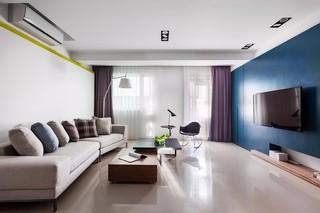 现代简约公寓装修效果图