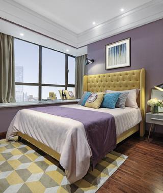 100㎡时尚现代风卧室装修效果图