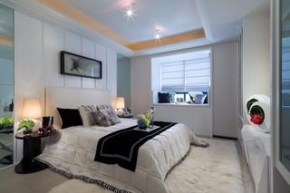120平现代简约风卧室装修效果图