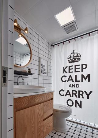 北欧风格两居卫生间装修效果图