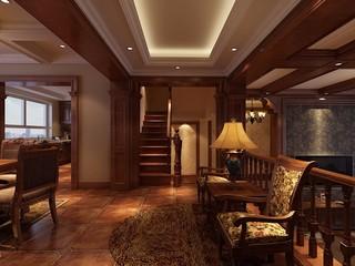 古典风格别墅楼梯装修效果图