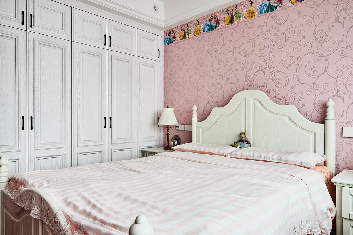 复古美式风格儿童房装修效果图