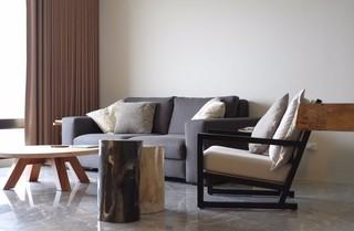 105㎡现代简约装修沙发设计图