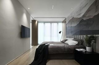 大户型极简风卧室装修效果图