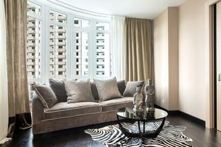 现代风格公寓客厅装修设计图