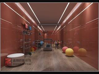 极简别墅健身房装修效果图