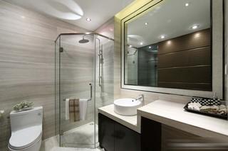 后现代风格两居卫生间装修效果图