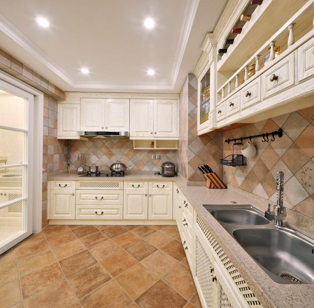 大户型现代欧式风格厨房装修效果图