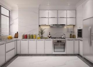欧式古典风格厨房装修效果图