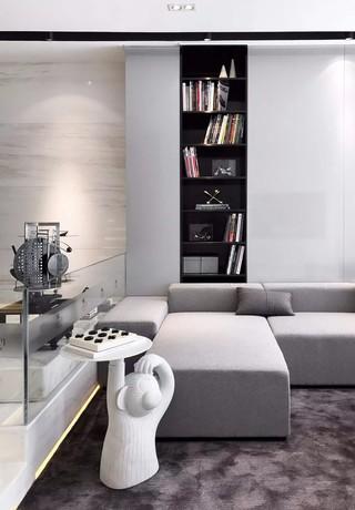 极简风格别墅沙发背景墙装修效果图