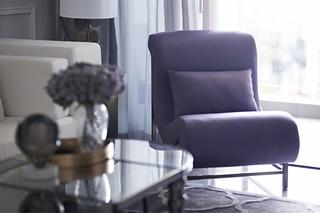 大户型混搭风格装修躺椅设计图