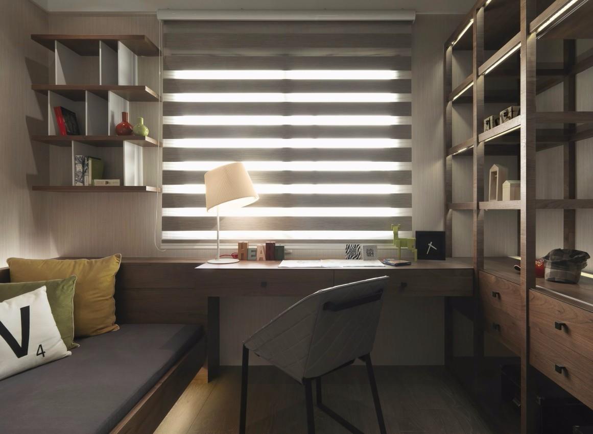 150平现代风格书房装修效果图